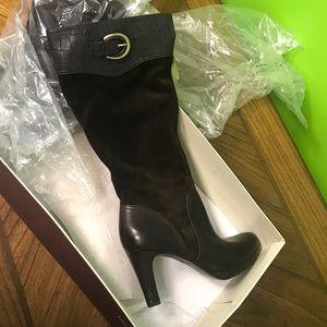 Naturalizer Boots Wide Calf. $40